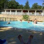 partie de la piscine