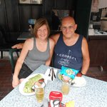 Joe & Florence at the Ugly Mug