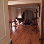 Ampla sala da suite