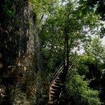 sentiero per raggiungere punto panoramico