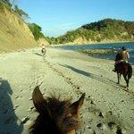 Un dimanche a playa Barco Quebrada
