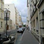 Rue Fondary vista da entrada