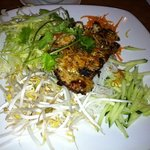 bun - vermicelli with grilled chicken