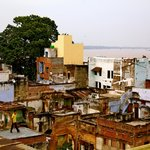 View of Varanasi and the Ganges