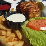 One of the best crab cake sanwiches I've had
