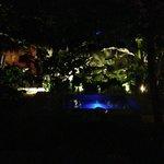 La piscina y el jacuzzi