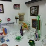 A small selection of glass wares.