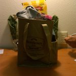 My Goodie Bag from Jennifer Hogan, GM and her Staff
