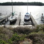 Boat docks are available for rent, by the day or the month!
