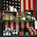 I call this the Patriots coffee shelf... or just coffee shelf