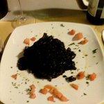 Tagliolini al nero di seppia