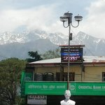 View of Mighty Dhauladhar from city center