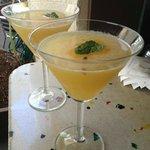 Delicious, tropical cocktails
