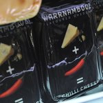 Warrnambool chili cheese - part of the cheese tasting selection