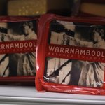 Warrnambool matured cheddar - part of the cheese tasting selection