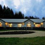 Hoeke Lodge, Carterton, Wairarapa at Twilight