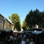 Lorgues market day