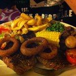 16oz steak meal