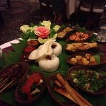 A picture of the best balinese ristjaffel from Alice's restaurant