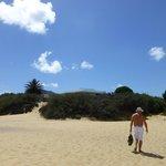 Retour de plage au mois d'Août