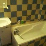 salle de bain vieillote