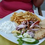 Sunset Restaurant - Gyros Plate