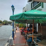 Dining by the Malacca River