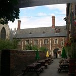 The Old School Room attached to St Mary and the Passage created by Queen Aethelflaed