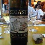 Vin blanc italien très minéral...un délice