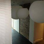 reception area lighting.