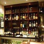 une partie du bar