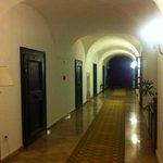 Hall of hotel