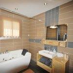 La salle de bains de la chambre N°2