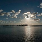 Jetty, late afternoon