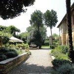 grosser italienisch-rustikaler Garten