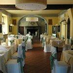 gepflegtes Ambiente im schönen Restaurant