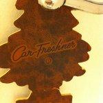 leather car fresheners