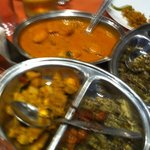 Thali - Fish Curry