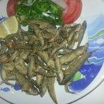 frittura di piccoli pesci