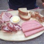 Charcuterie breakfast