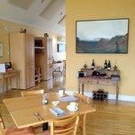 dining room - Black Spruce restaurant with art work