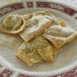 tortelli (1/2 porzione)