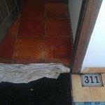 Unwelcoming Room Entrance, Lock not working
