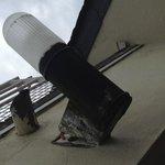 Lumière extérieure balconnet