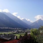 fantastic view on the beautiful Alps and Stubai Vally