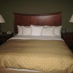 King bed with the sumptuous Hilton bedding package