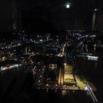 展望室からの夜景(門司港駅側です)