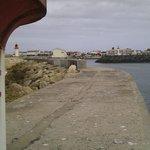 Vue du port à partir du phare