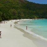 Anse Lazio beach (10-15 mins from resort)