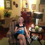 Coffee/Tea in the parlor